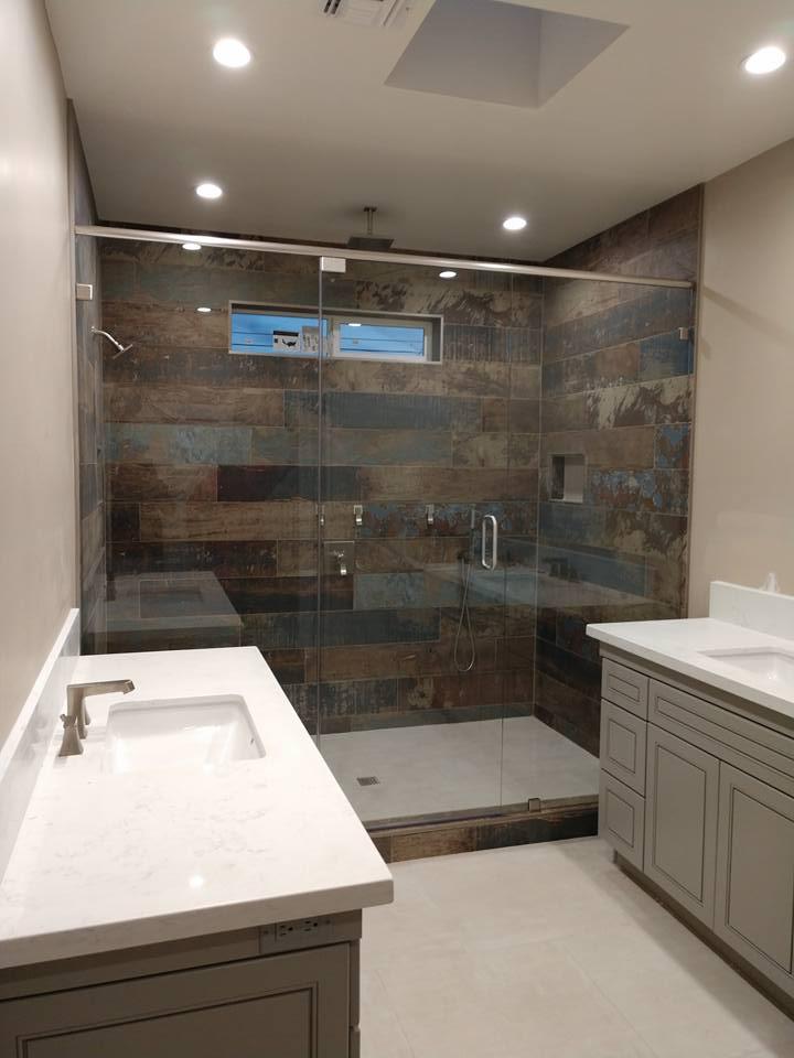 Standing Bathroom Shower