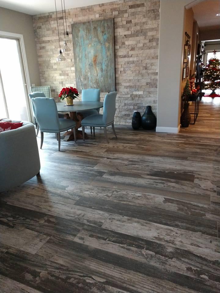 Porcelain Plank Tile Flooring