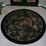 Dark Medallion Flooring