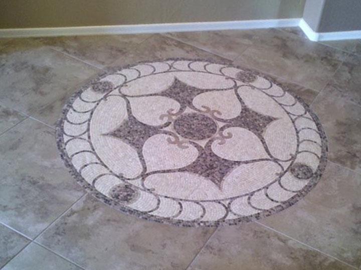 Light Medallion Flooring